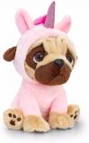 Unicorn Pug Dog Soft Toy by Keel Toys