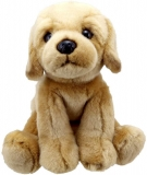 Wilberry Labrador Soft Toy in Yellow Color