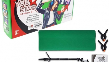 You Star Studio Green Screen Studio Kit for Kids